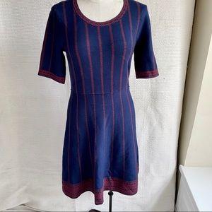 Stitchfix OS Sexy Sweater Dress Navy Blue